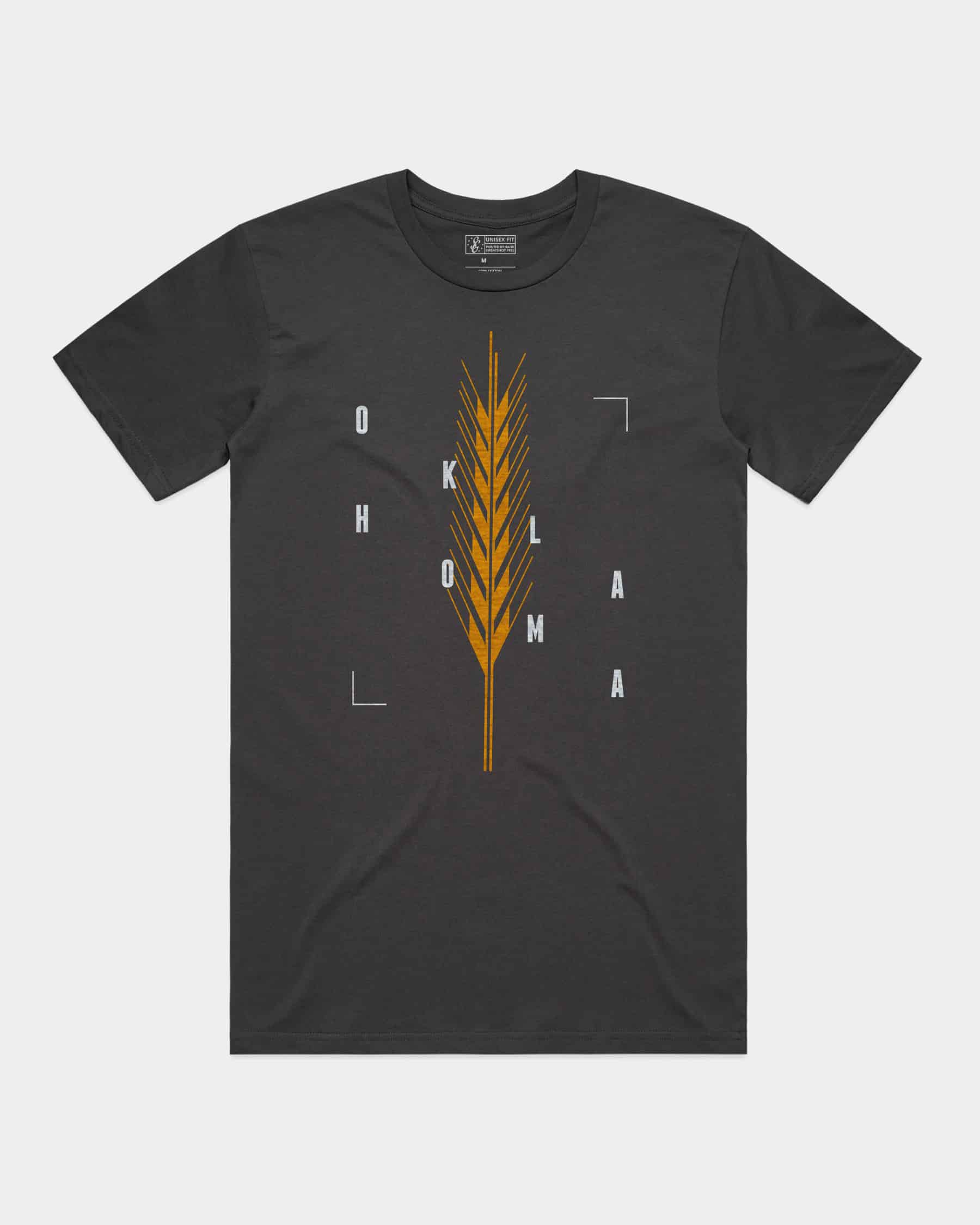 Golden Wheat Tee Coal