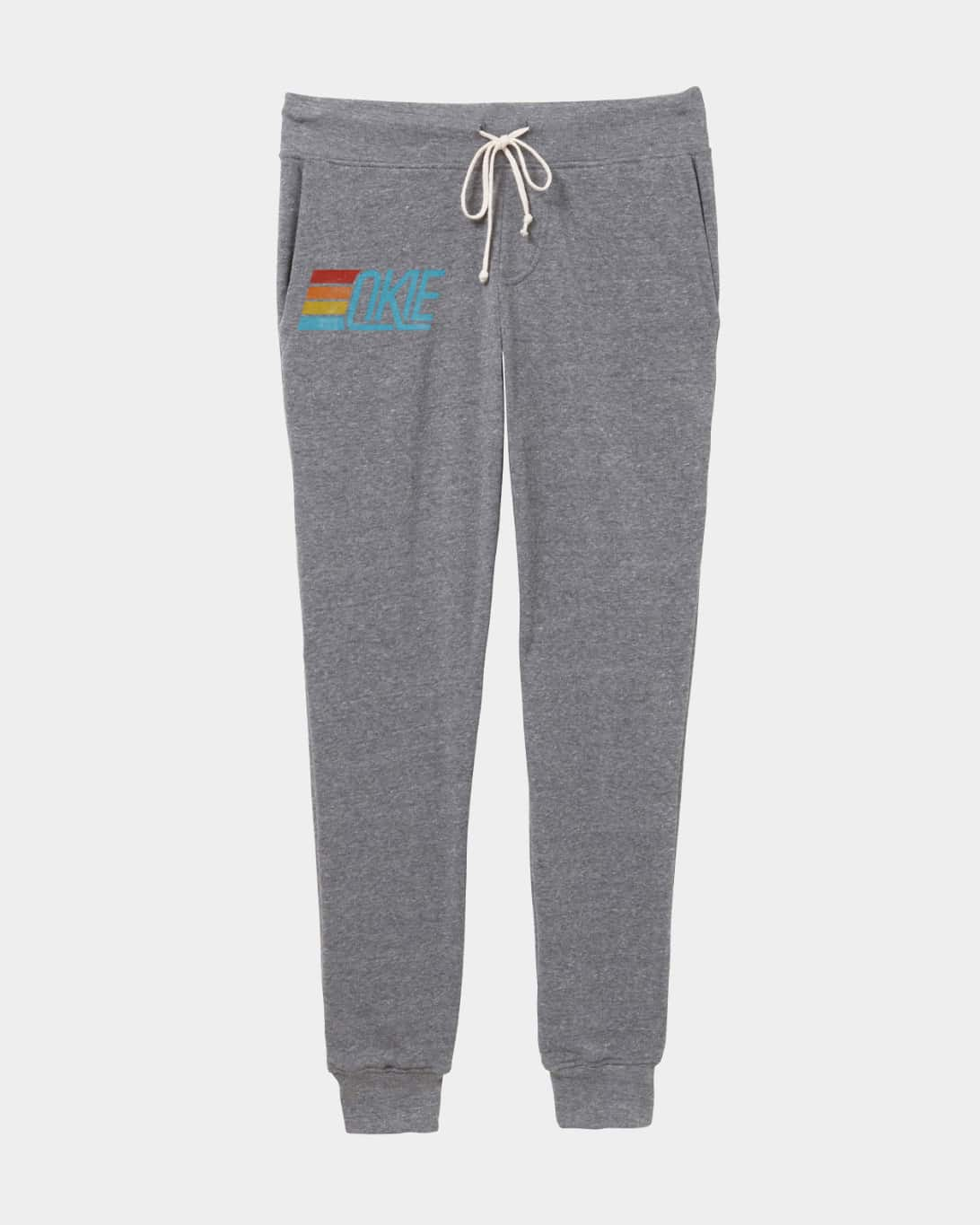 Okie Track Joggers Heather Grey