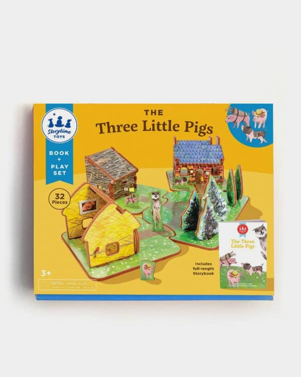 A photo of the Three Little Pigs Storybook toy box