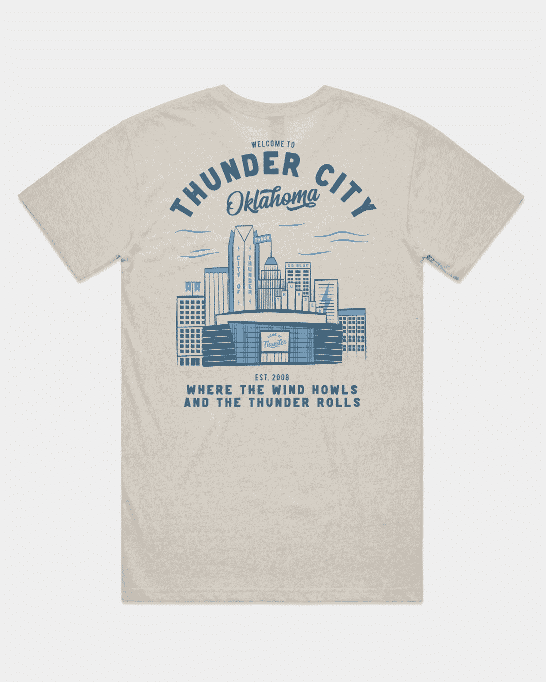 Thunder City OK Tee
