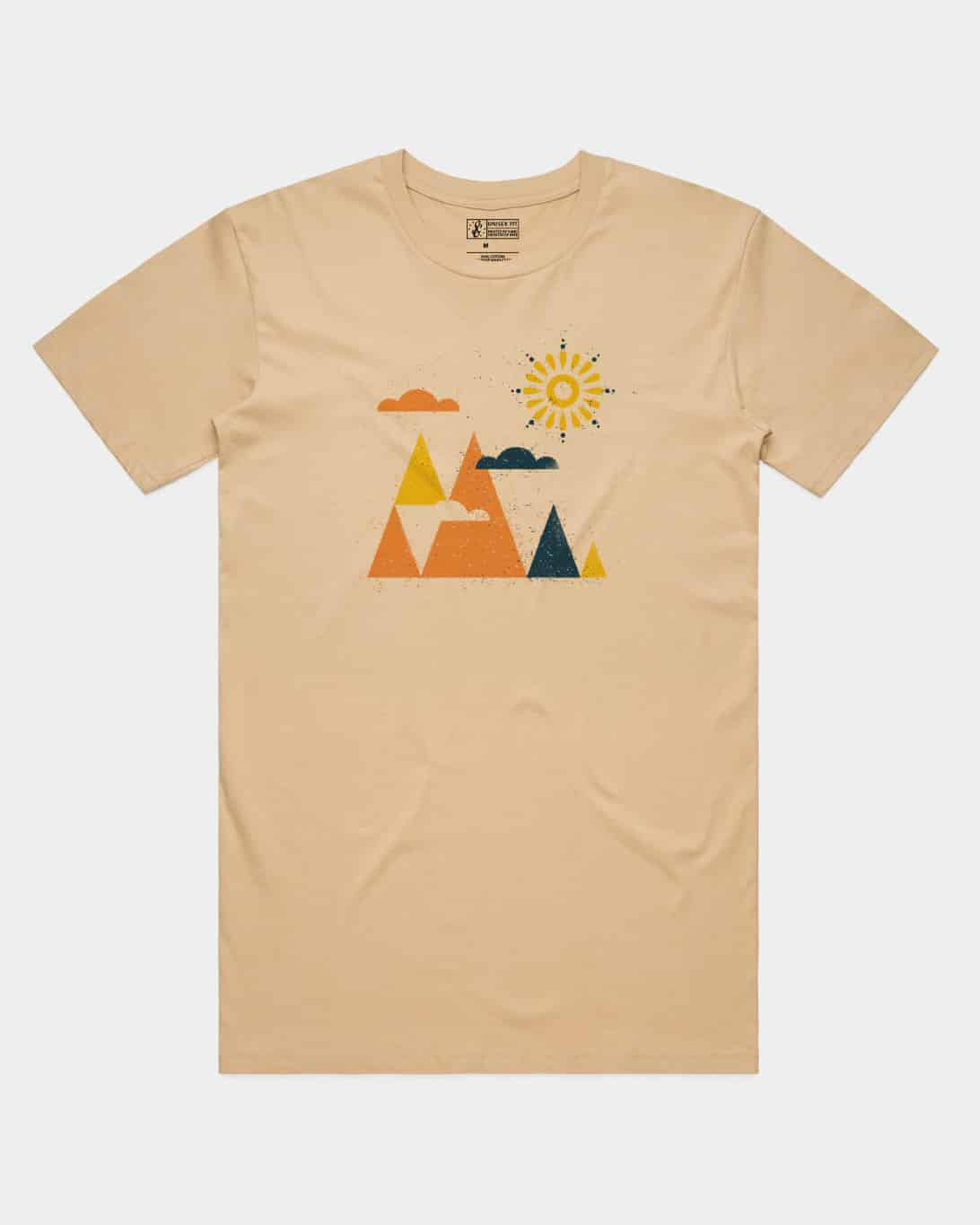 Woodblock Mountains Tee