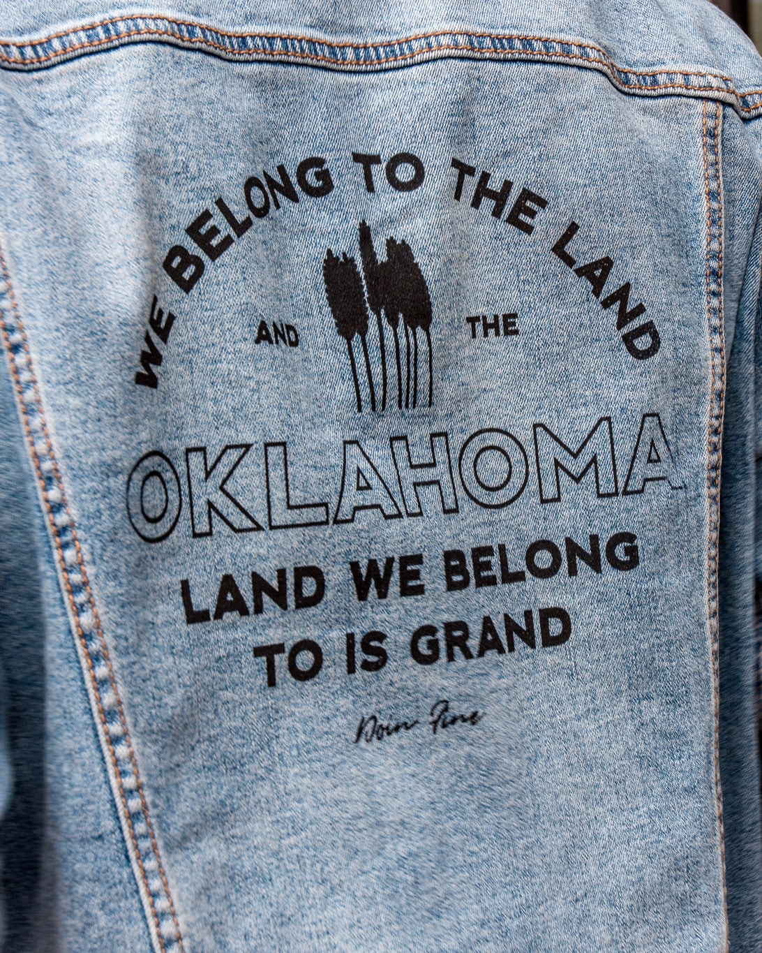 We Belong To Oklahoma Unisex Denim Jacket