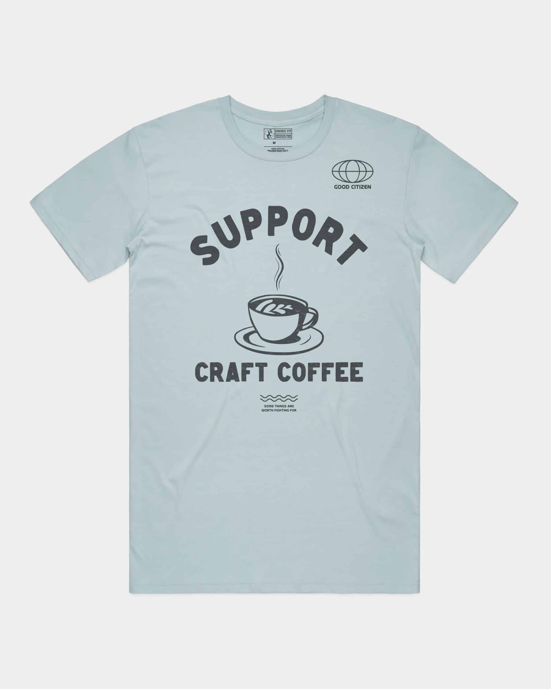 SOLIDARITY SERIES No. 7: Support Craft Coffee Tee