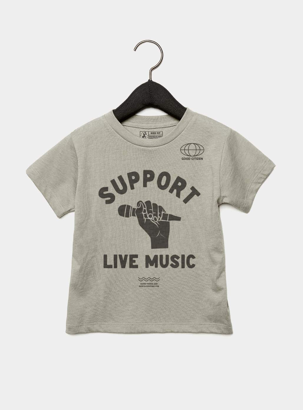 SOLIDARITY SERIES No. 4: Support Live Music Kids Tee