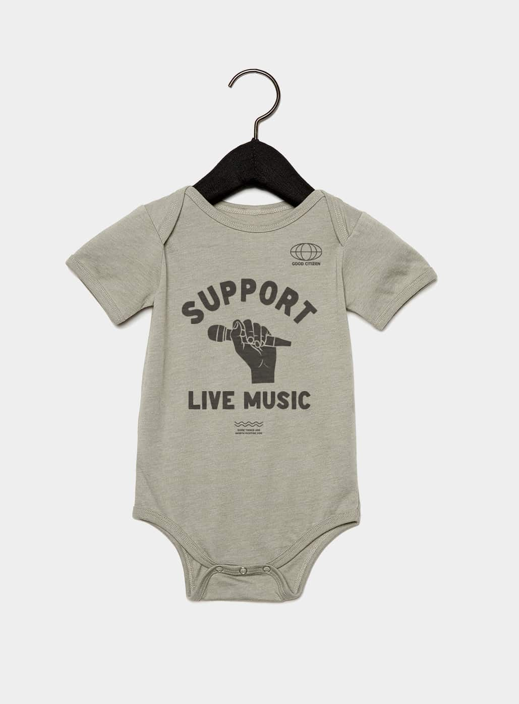 SOLIDARITY SERIES No. 4: Support Live Music Kids Onesie