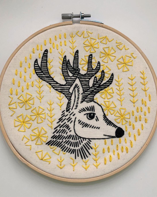 Oh Deer – DIY Embroidery Kit