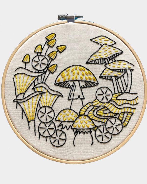 Fungus Among Us Embroidery Kit