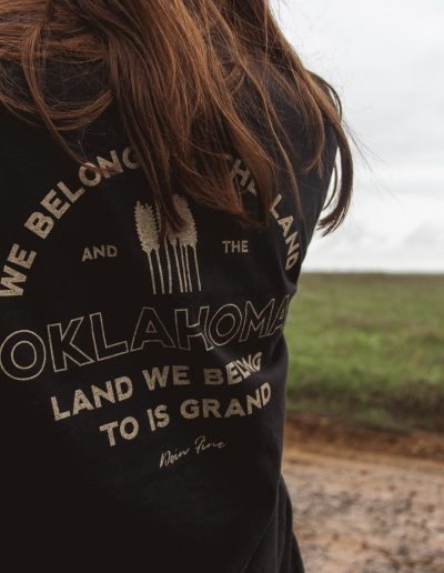We Belong to the Land Tee Coal