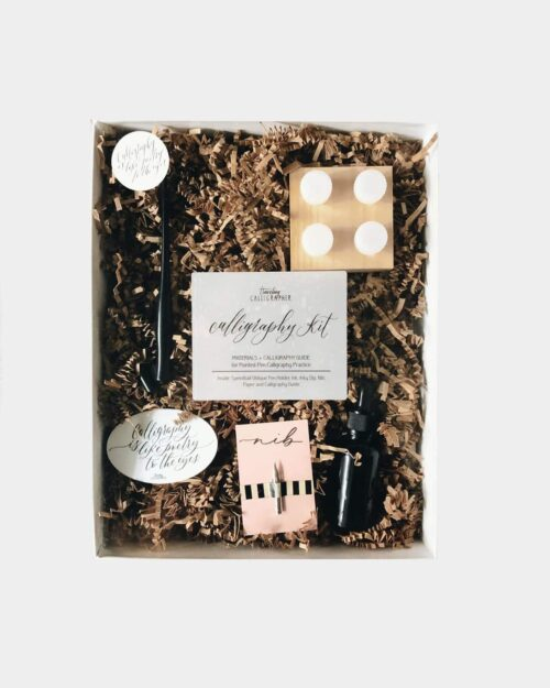 A photo of the Traveling Calligrapher Calligraphy Kit
