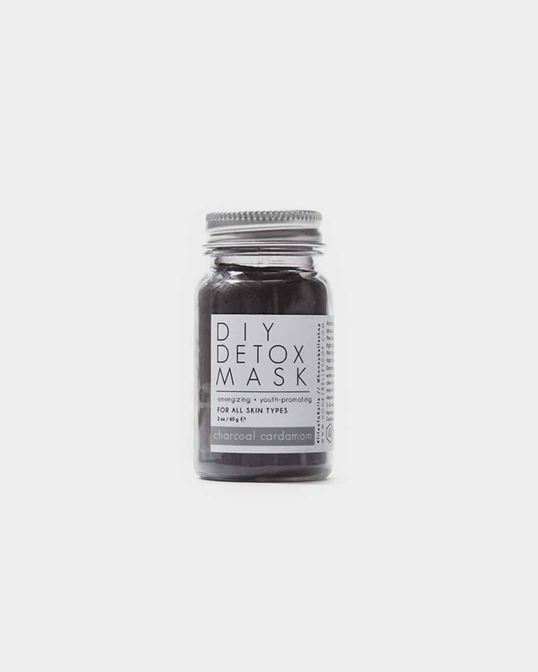 jar of honey belle charcoal cardamom mask