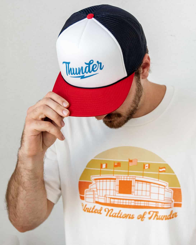 Speed of Thunder Trucker Hat