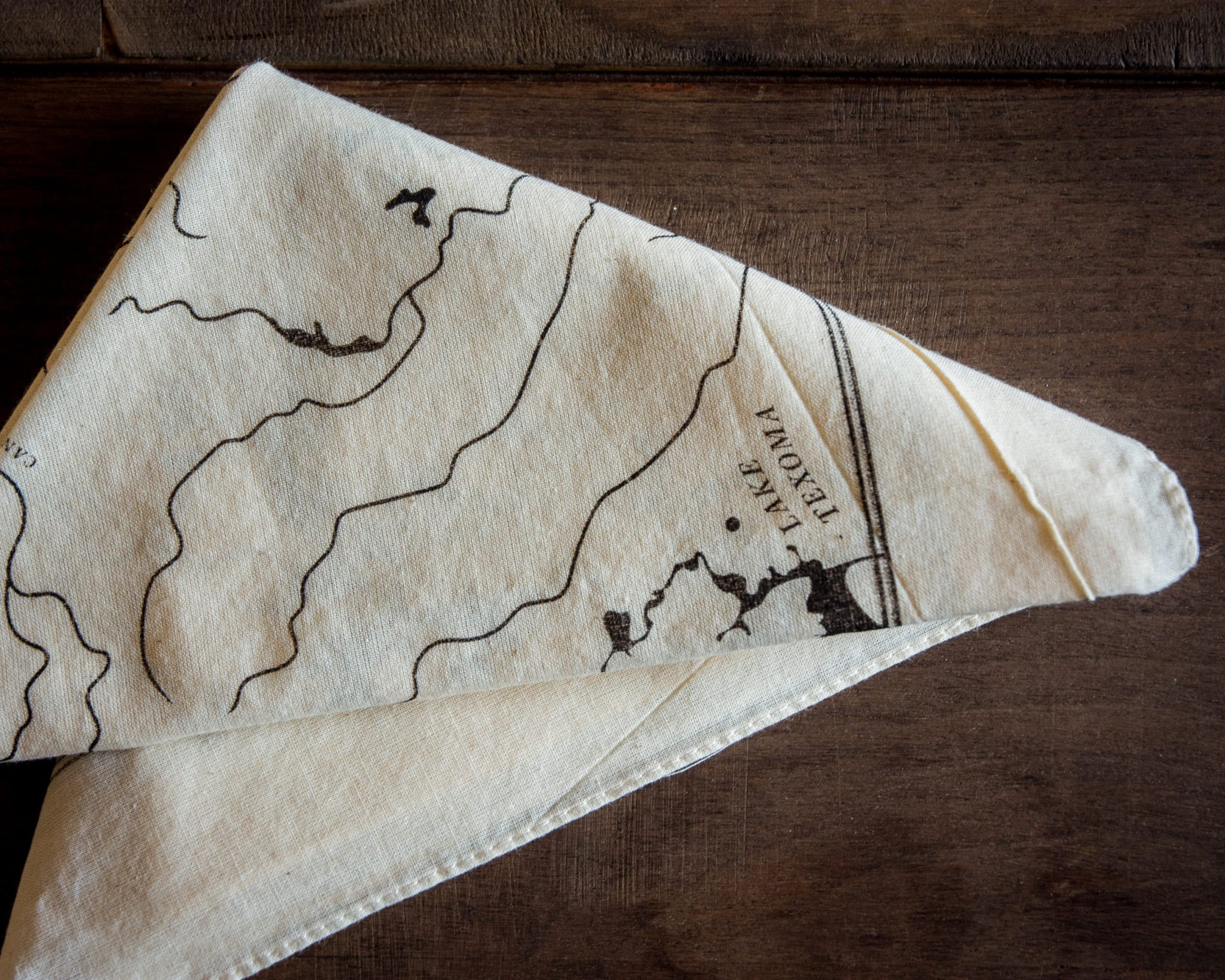 OK Rivers Map Bandana Natural