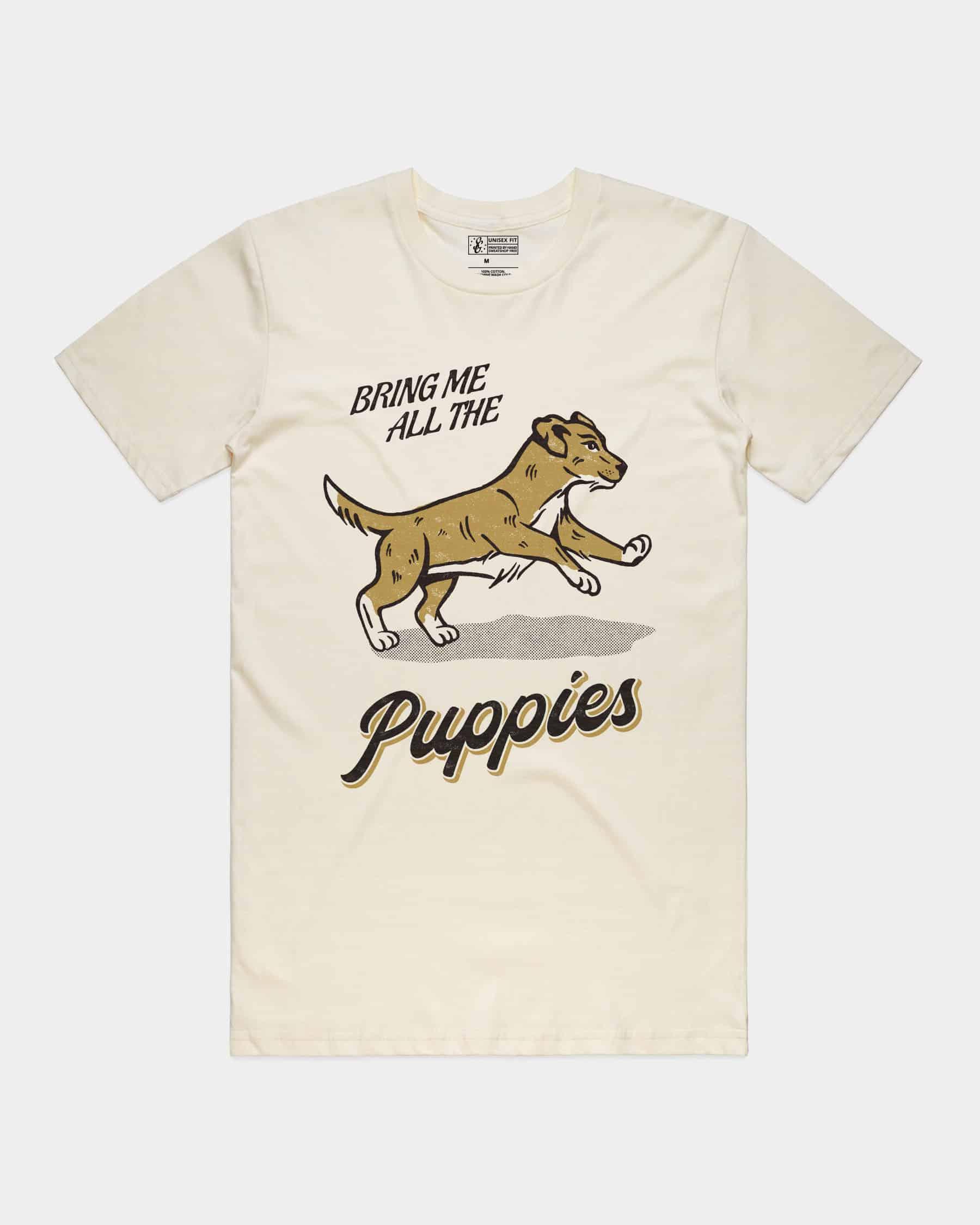 Bring Me Puppies Tee Natural