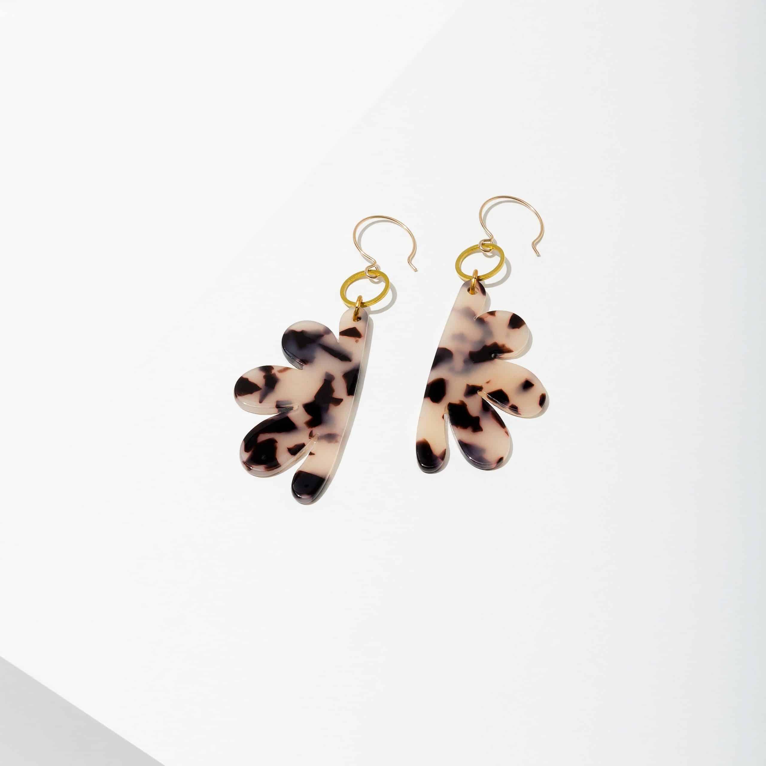 Eden Earrings Tortoise