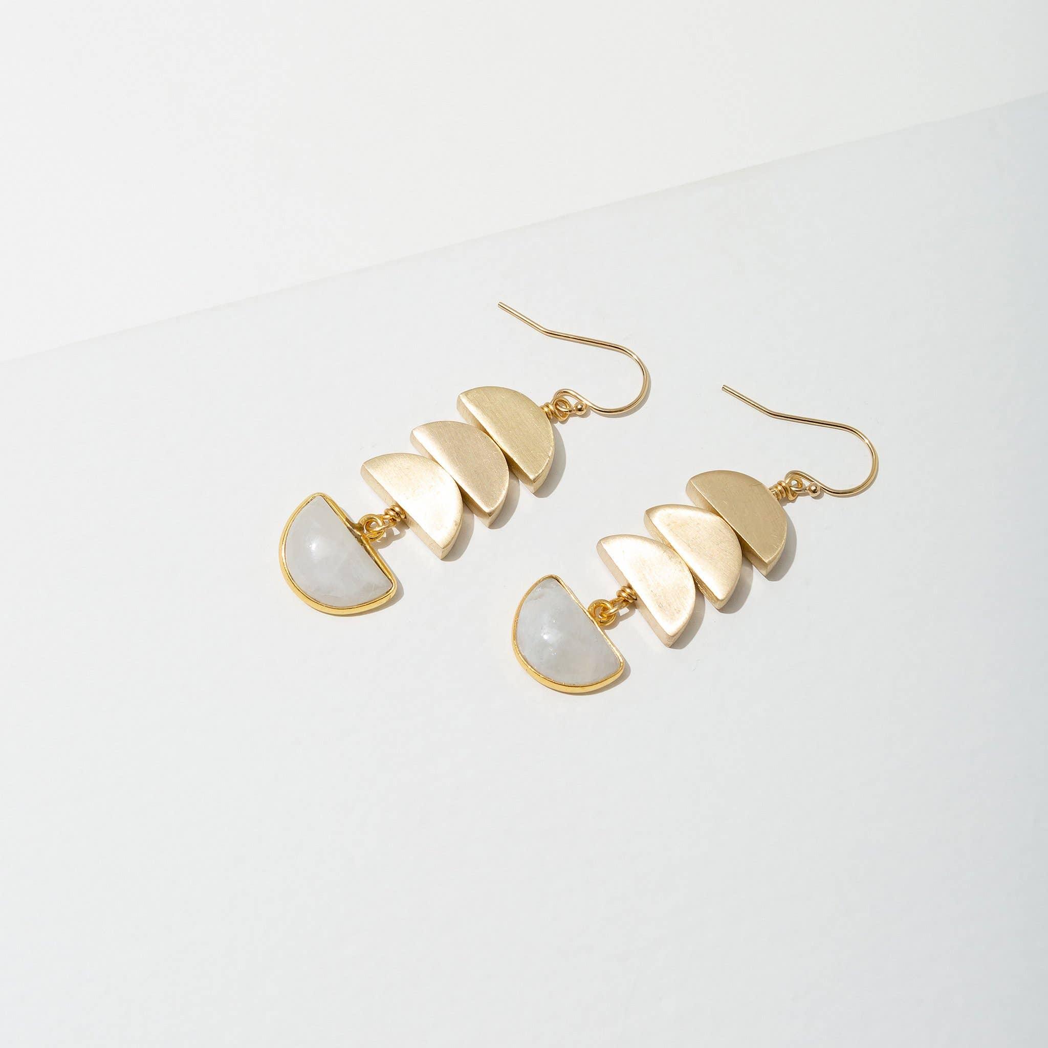Vera Earrings Moonstone