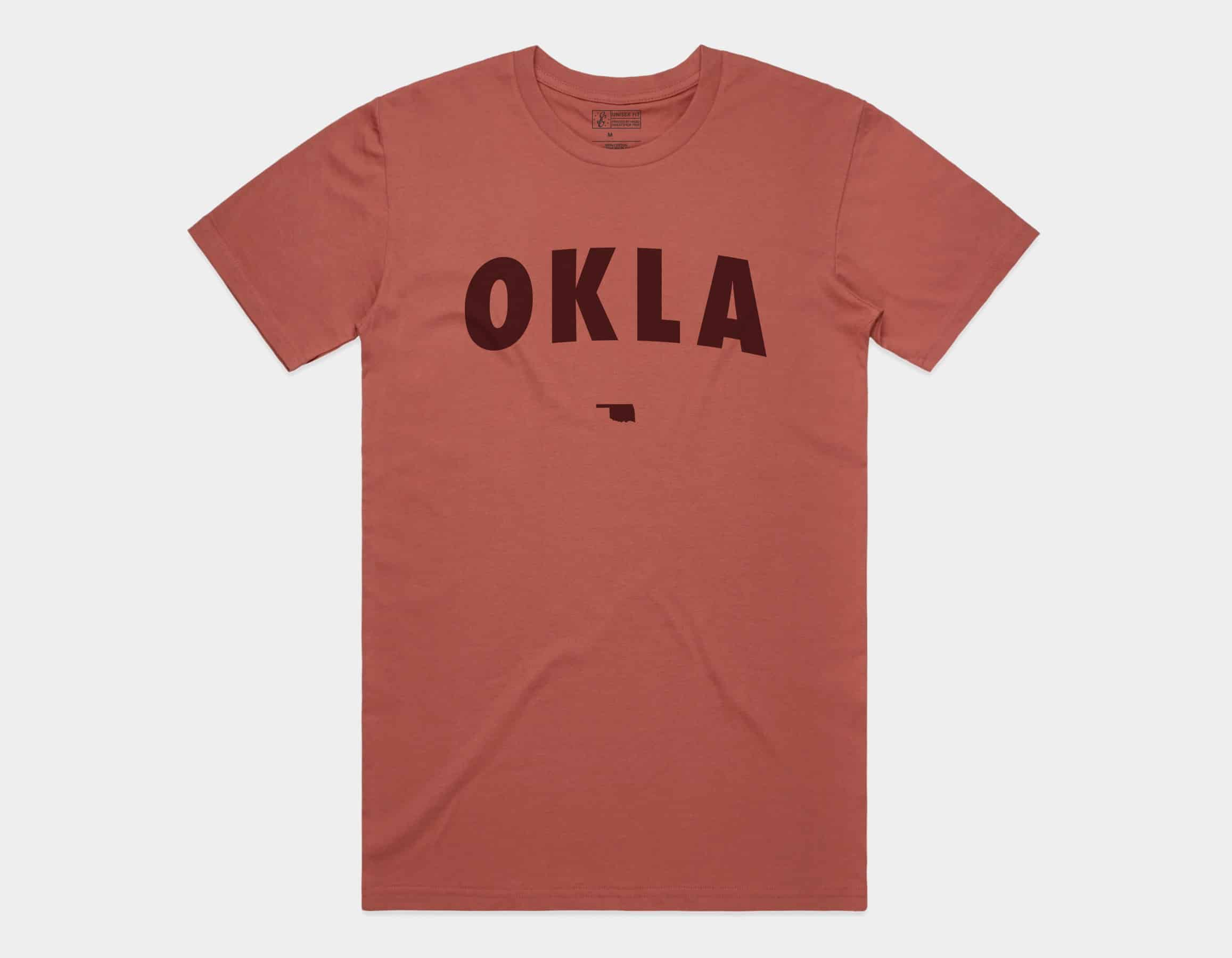 OKLA Tee Coral
