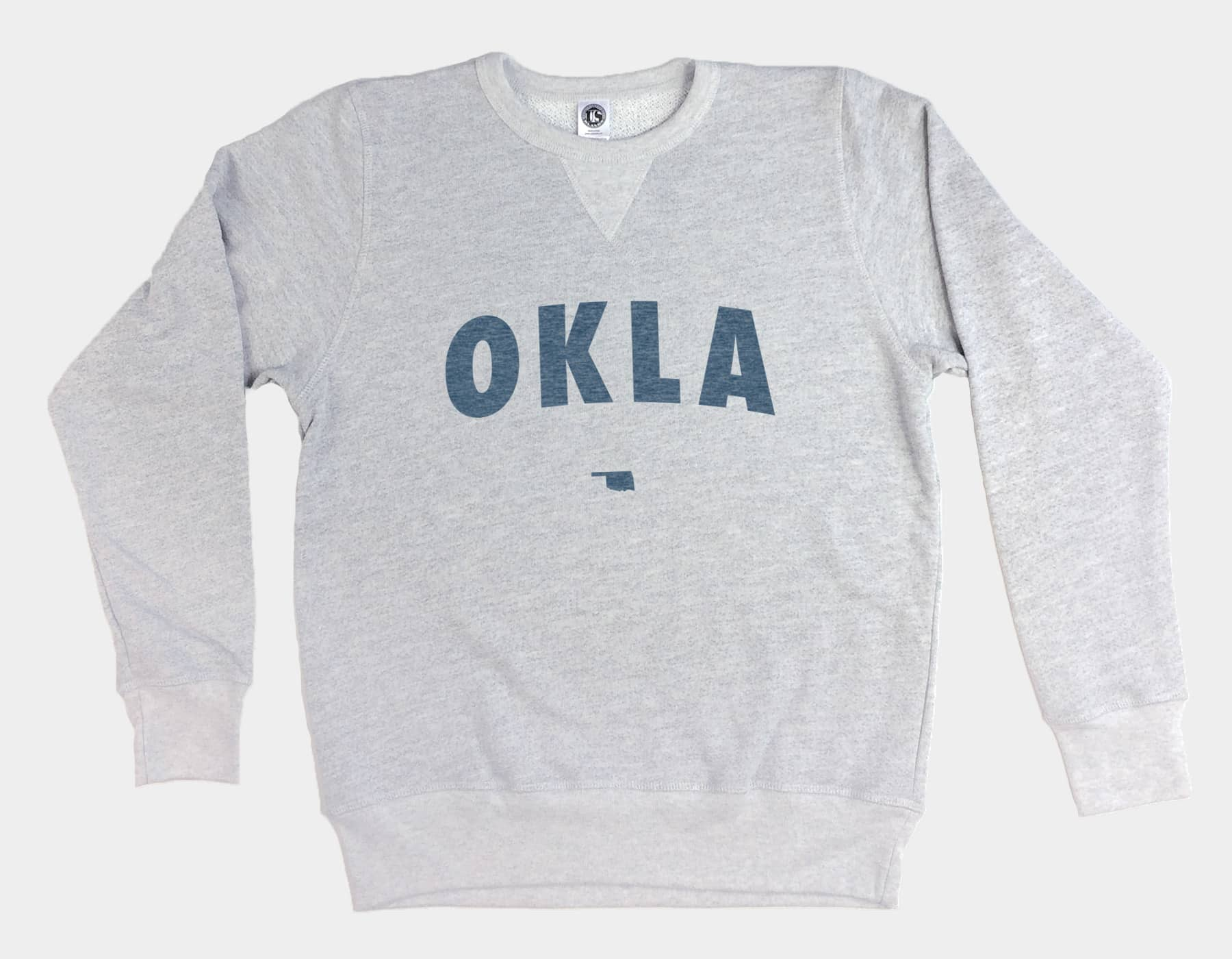 OKLA Pullover Sweatshirt Heather Grey