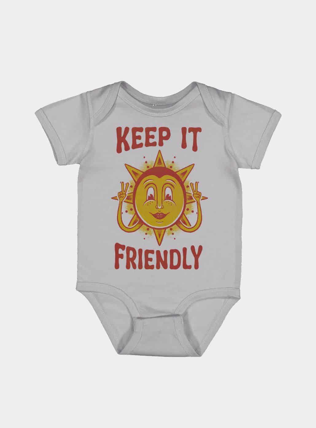 Keep It Friendly Kids Onesie