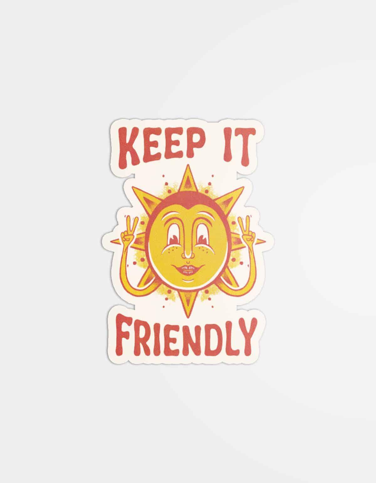 Keep It Friendly Magnet