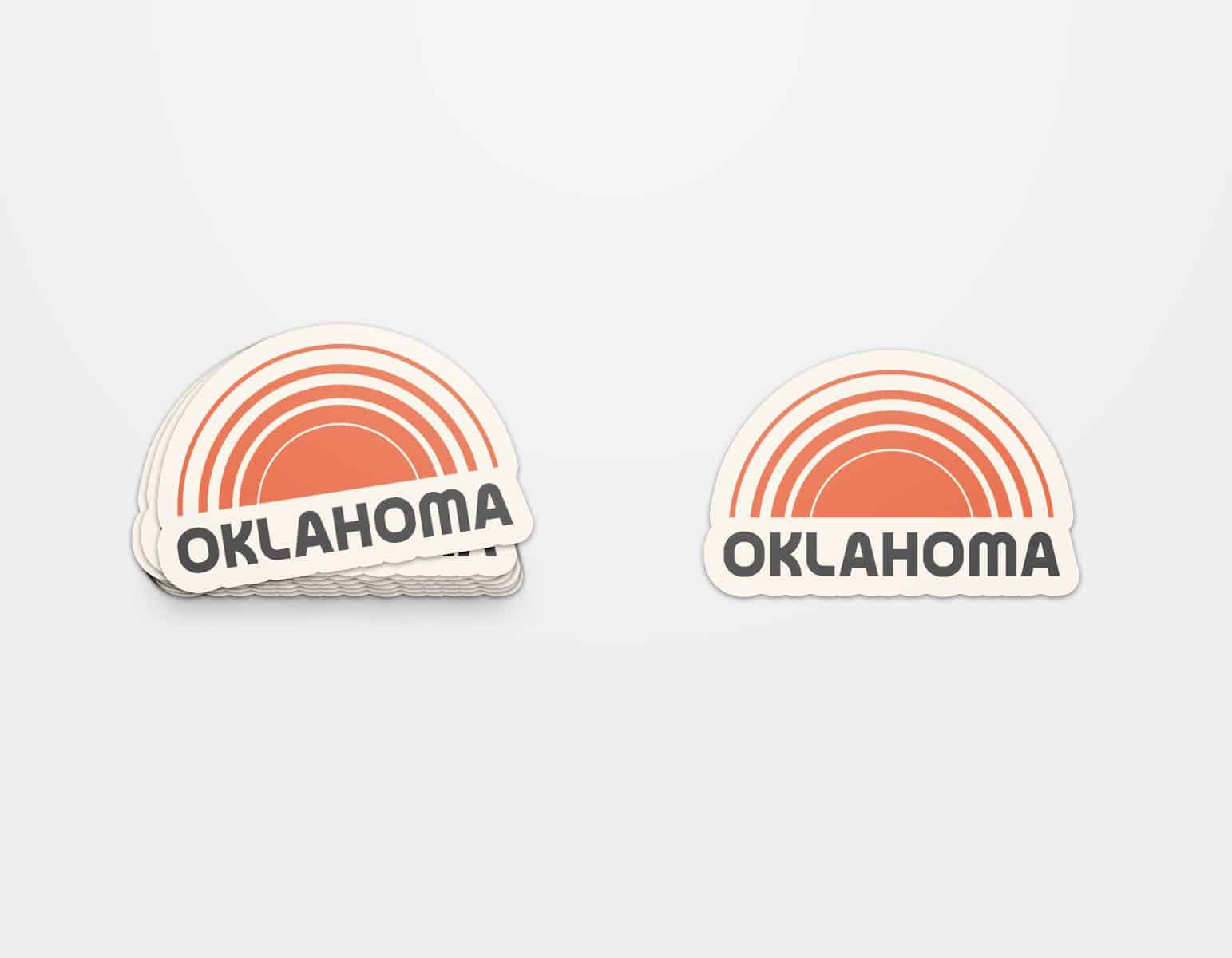Oklahoma Sunsets Sticker