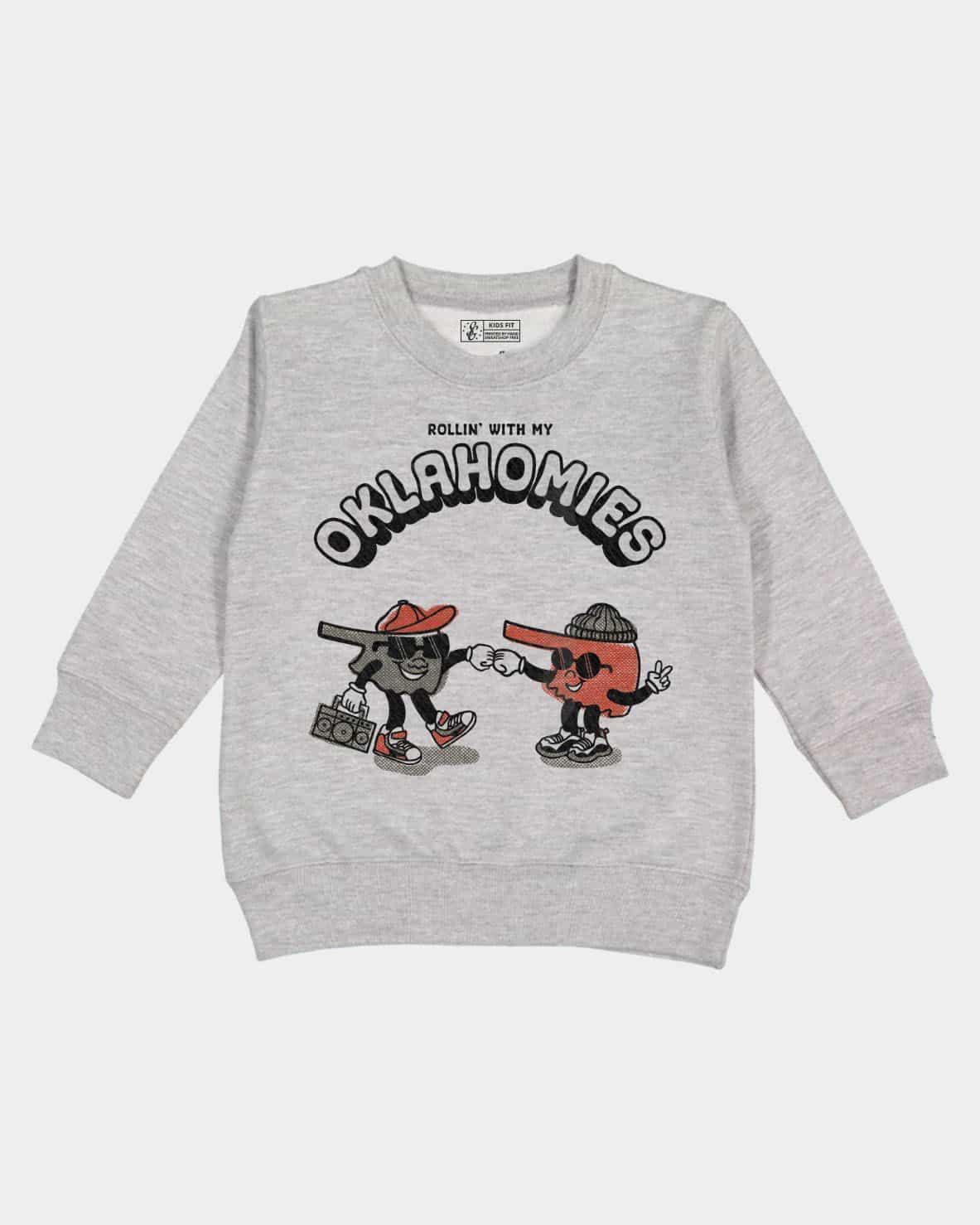 Oklahomies Kids Pullover Sweatshirt