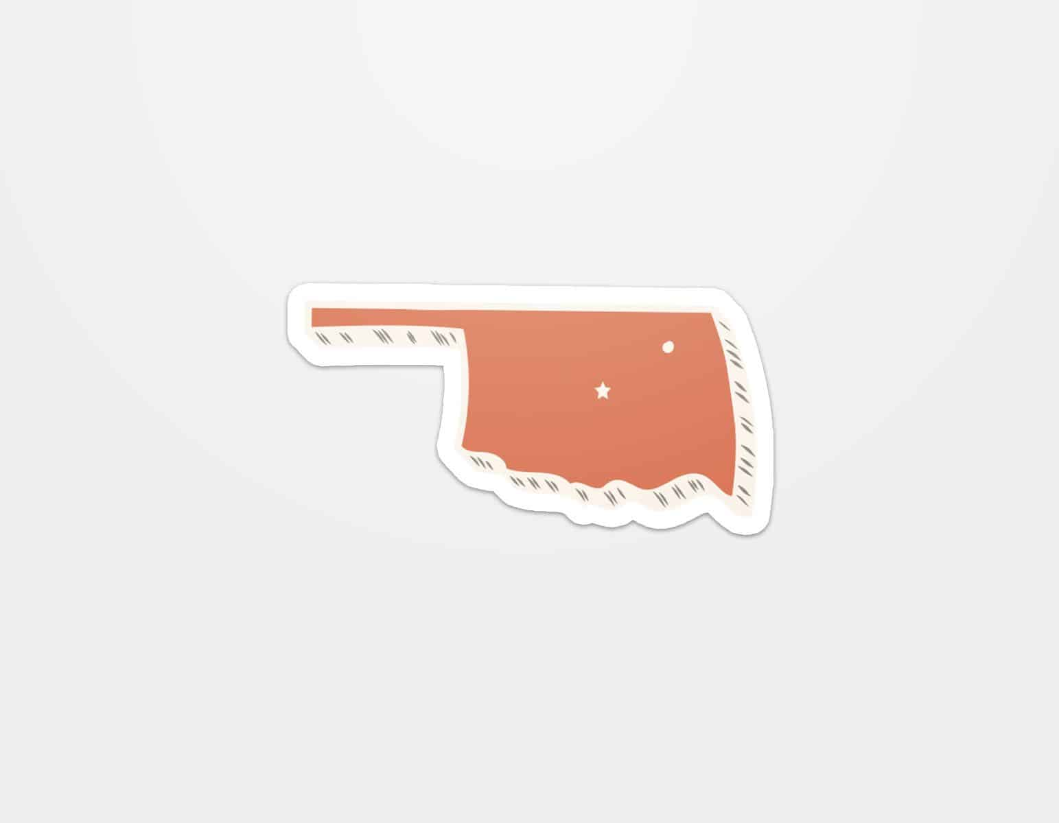 Oklaland Sticker Orangelo