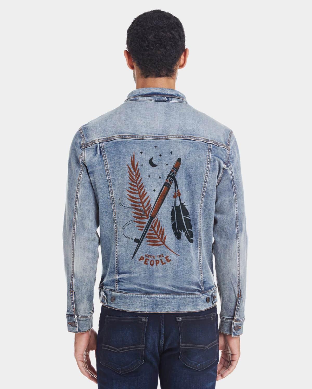 Keep the Peace Unisex Denim Jacket
