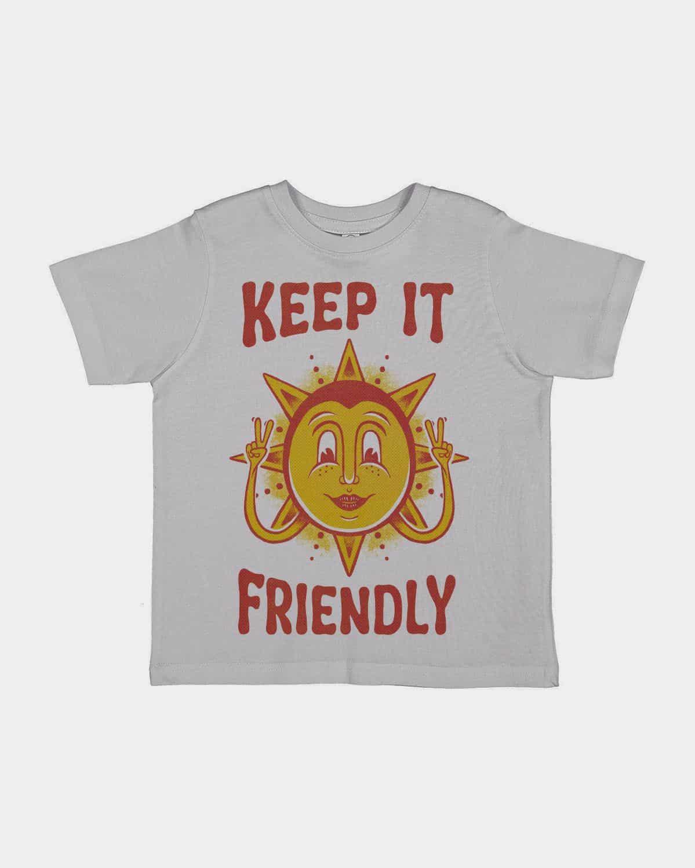 Keep It Friendly Kids Tee