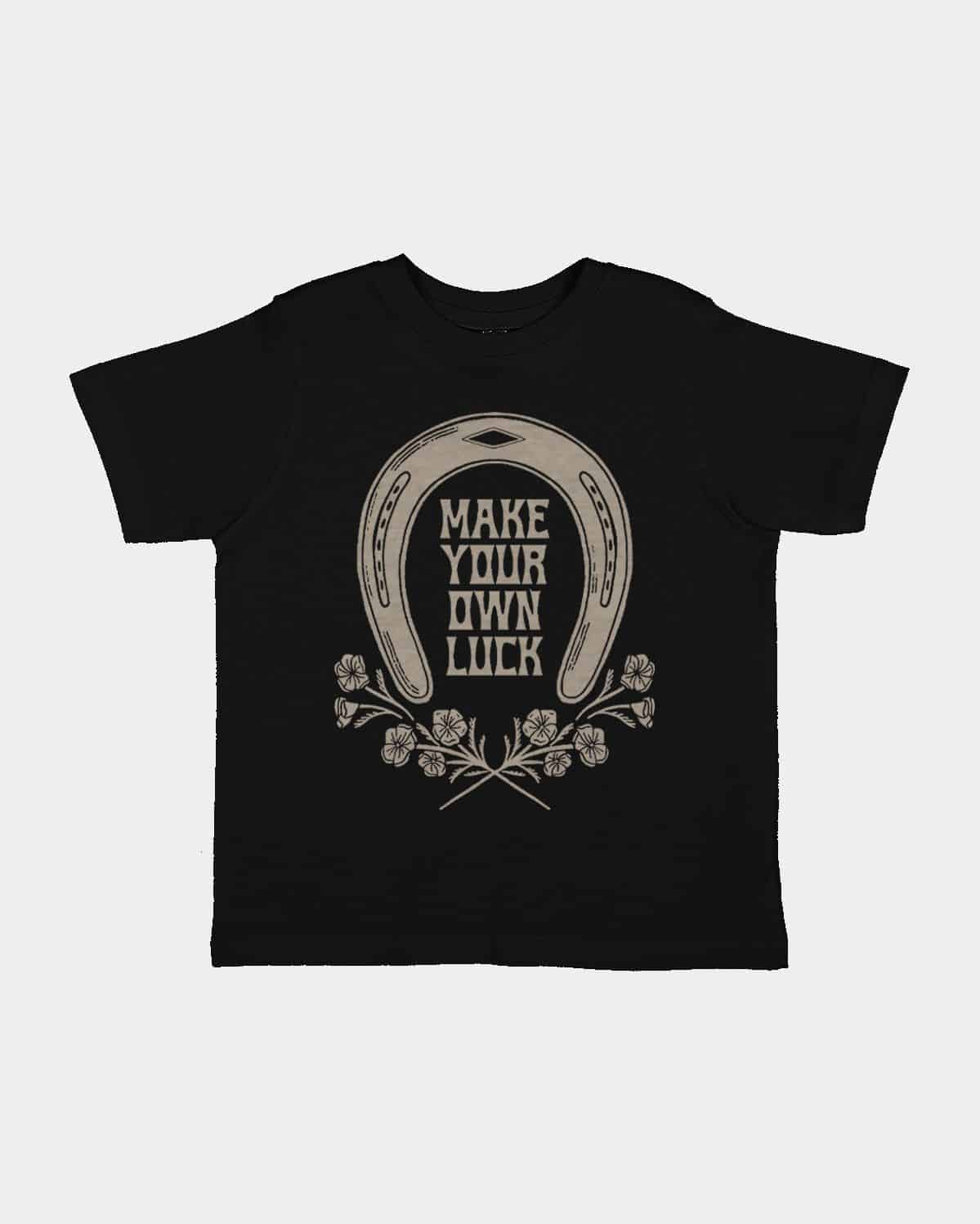 Make Your Own Luck Kids Tee