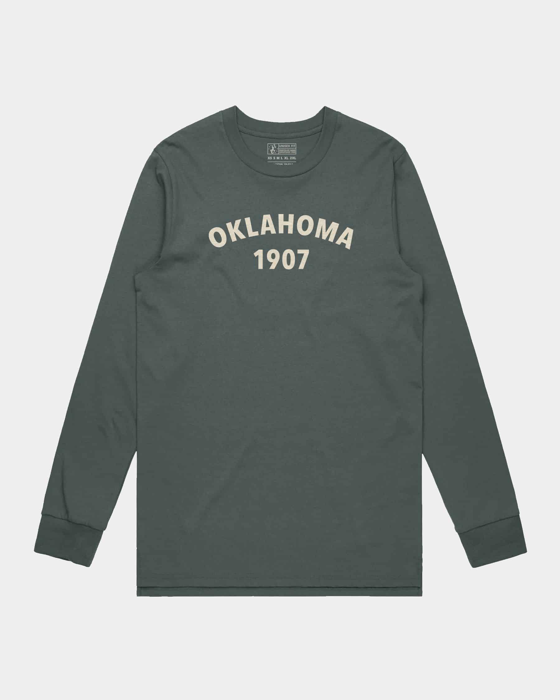 Oklahoma Heritage LS Tee