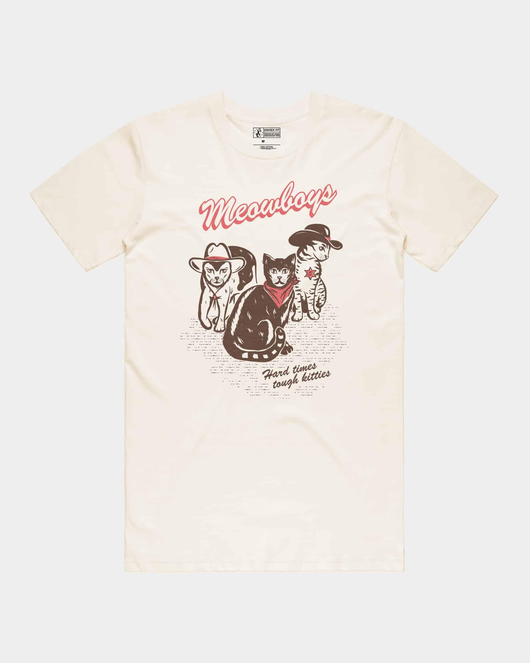 Meowboys Tee
