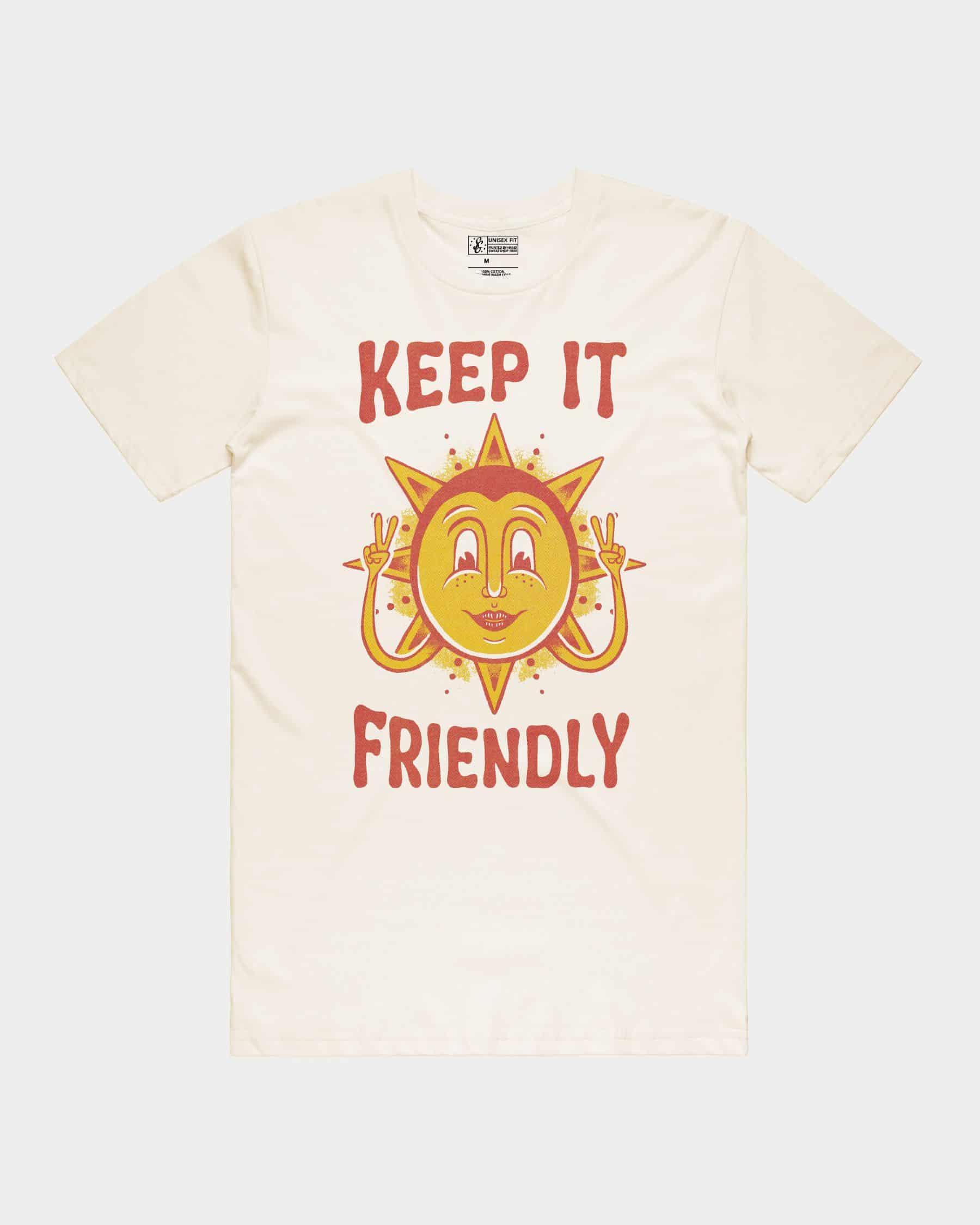 Keep It Friendly Tee