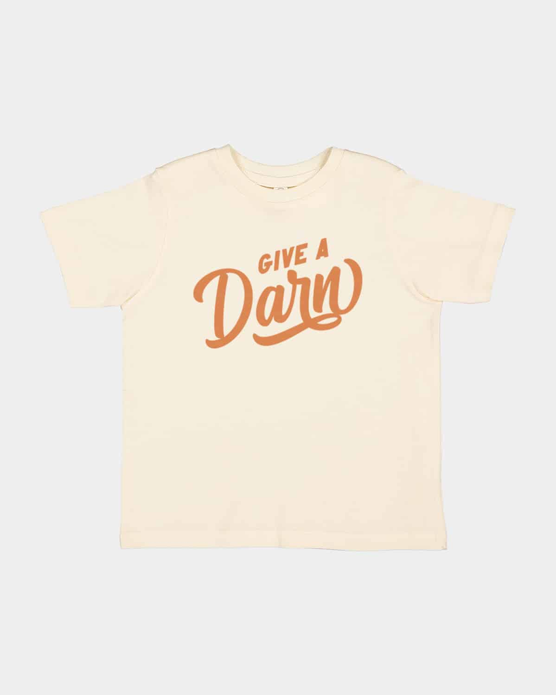 Give A Darn Kids Tee