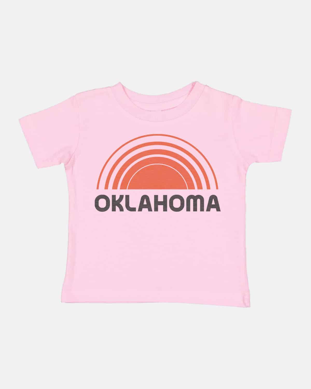 Oklahoma Sunsets Kids Tee